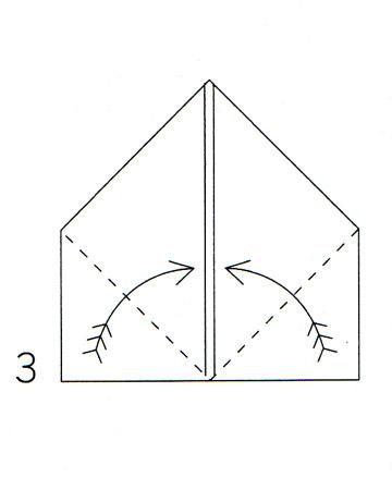и схема сложения салфетки